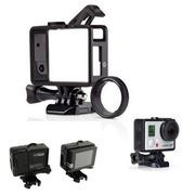 6306a87c9 Armação Shoot Frame Trava Andfr-301 e Protetor Lente para Câmeras GoPro  Hero 3, 3+, 4