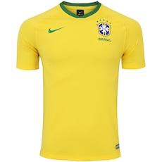 Camisa Pré-Jogo da Seleção Brasileira 2018 Nike - Masculina 842990a888e17