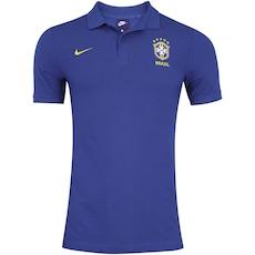 Agora 13% Desconto. Camisa Polo da Seleção Brasileira 2018 Nike Sportswear  Crew - Masculina 956b0de5e2628