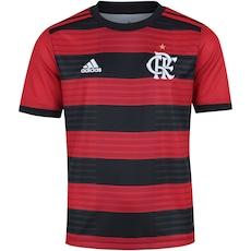 Camisa Pré-Jogo do Flamengo 2018 adidas - Infantil 37c00c922f78c