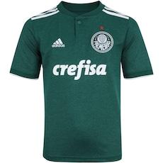 Agora 17% Desconto. Camisa do Palmeiras I 2018 adidas - Infantil 39ed5f63379ae