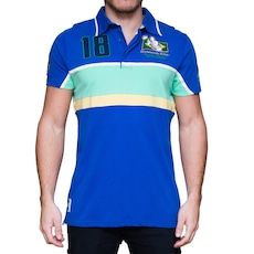 0890af17e Camisa Polo Kevingston Taylor Rugby M C Brazil II - Masculina