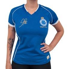 60ed9725cc Camiseta do Cruzeiro RetrôMania 2003 Alex Tríplice Coroa - Feminina