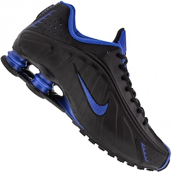 Tênis Nike Shox R4 - Masculino - PRETO/AZUL ESC
