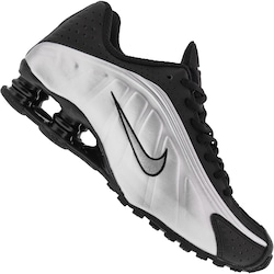 Tênis Nike Shox R4 - Masculino - PRETO/PRATA
