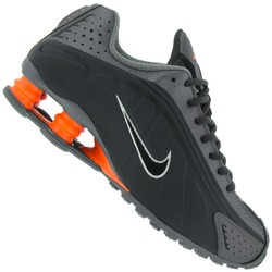 Tênis Nike Shox R4 - Masculino - CINZA ESC/CINZA
