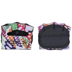 Luvas para Academia Oxer Protetor Palmar com Dedos - Feminina - Rosa/Verde