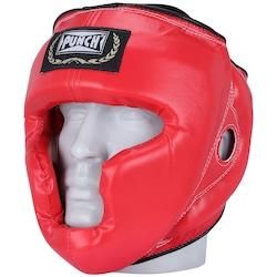 Protetor de Cabeça Punch sem Grade - VERMELHO