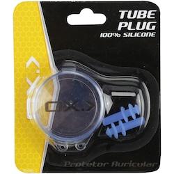 Tampão Protetor de Ouvido para Natação Oxer Tube Plug - AZUL