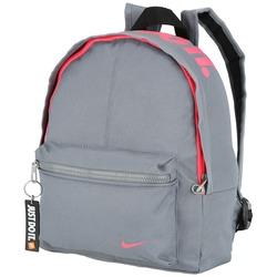 Mochila Nike Athletes Classic - Infantil - CINZA ESC/ROSA