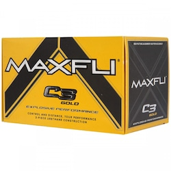 BOLA GOLF MAXFLI C3 BLACK MAB002 - 79066800