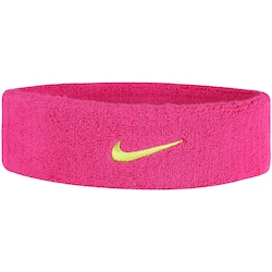 Testeira Nike Swoosh Headband - Adulto - Rosa/Verde