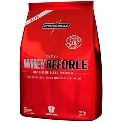 Whey Protein Integralmédica Super Whey Reforce - Morango - Refil 907g