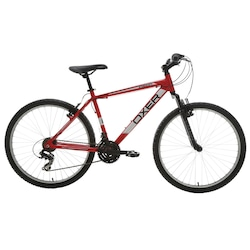 Mountain Bike Oxer Vision - Aro 26 - Freio V-Brake - Câmbio Traseiro Shimano - 21 Marchas - VERMELHO