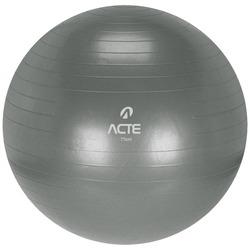 Bola de Pilates Acte Sports com Bomba de Ar - 75cm - CINZA