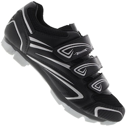 Sapatilha Ciclismo Damatta MTB 2SP040 - 3 Velcros - PRETO