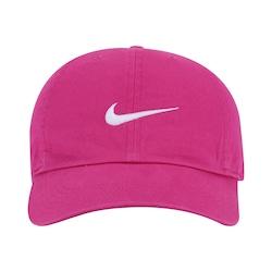 a09e9c978c Boné Aba Curva Nike New Swoosh Heritage 86 - Infantil - Rosa Esc branco