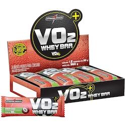 Barra de Proteína Integralmédica VO2 Whey Bar - Coco - 12 Unidades