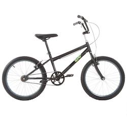 Bicicleta Oxer Pump 360 - Aro 20 - Freio V-Brake - Infantil - PRETO
