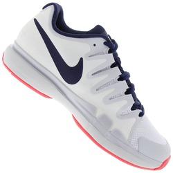 Tênis Nike Zoom Vapor 9.5 Tour - Feminino - BRANCO/AZUL ESC