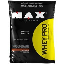 Whey Protein Max Titanium - Chocolate - 1,5Kg