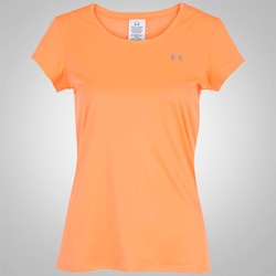 66729950df0 Camiseta Under Armour Flyweight - Feminina - LARANJA CINZA CLA. Centauro