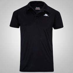 Camisa Polo Kappa Sewill - Masculina - PRETO
