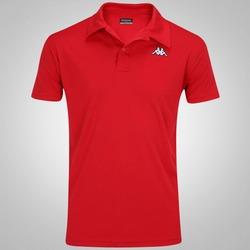Camisa Polo Kappa Sewill - Masculina - VERMELHO