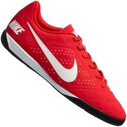 Chuteira Futsal Nike Beco 2 - Adulto - Vermelho/Preto