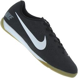 Chuteira Futsal Nike Beco 2 - Adulto - PRETO/BRANCO
