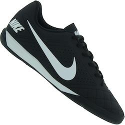 Chuteira Futsal Nike Beco 2 - Adulto - PRETO/CINZA/BRANCO