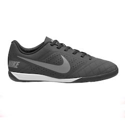 Chuteira Futsal Nike Beco 2 - Adulto - PRETO/CINZA ESC