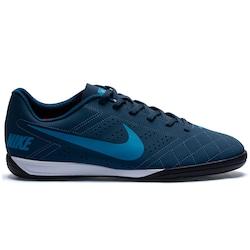 Chuteira Futsal Nike Beco 2 - Adulto - AZUL ESC/PRETO