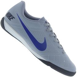 Chuteira Futsal Nike Beco 2 - Adulto - CINZA CLA/AZUL