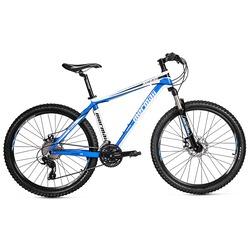 Mountain Bike Mormaii Flexxxa XC640 - Aro 26 - Freio a Disco - Câmbio Traseiro Shimano - 24 Marchas - AZUL/BRANCO