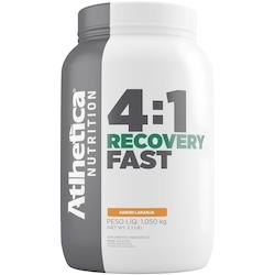 Carboidrato Atlhetica Recovery Fast 4:1 - Laranja - 1,050Kg