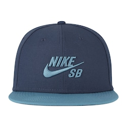Boné Aba Reta Nike Icon - Snapback - Adulto - Azul Escuro 97a06fbc95925