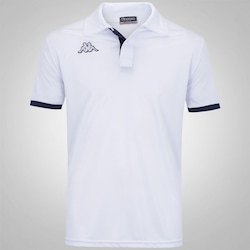 Camisa Polo Kappa Legacy - Masculina - BRANCO