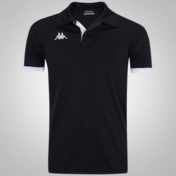 Camisa Polo Kappa Legacy - Masculina - PRETO