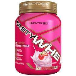 Whey Protein Adaptogen Science Tasty Whey - Sabor Morango - 909g