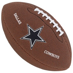 Bola de Futebol Americano Wilson NFL Dallas Cowboys - MARROM