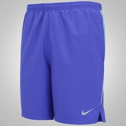 Bermuda Nike 7 Challenger - Masculina - AZUL/AZUL CLARO