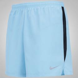 Bermuda Nike 5 Challenger - Masculina - Azul Claro/Preto