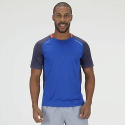 Camiseta Oxer Cole - Masculina - CINZA ESC/AZUL