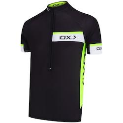 Camisa de Ciclismo Oxer Verty - Masculina - PRETO/AMARELO