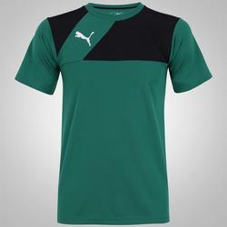 Camiseta Puma Jersey - Masculina - VERDE/PRETO