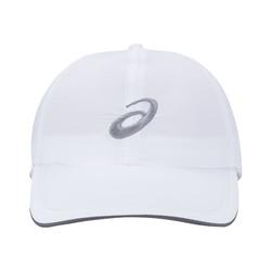 Boné Asics Sun Protect Cap - Strapback - Adulto - BRANCO/CINZA