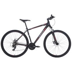 Bicicleta Oxer XR5 - Aro 29 - Freio a Disco - Câmbio Dianteiro Shimano FD-TX50 - PRETO/VERMELHO