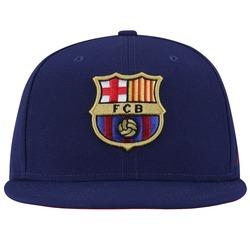 Boné Aba Reta Nike Barcelona Core - Snapback - Adulto - Azul Esc/Vinho