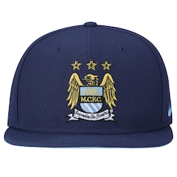 Boné Aba Reta Nike Manchester City Core - Snapback - Adulto - Azul Esc azul 184fa4c4c86